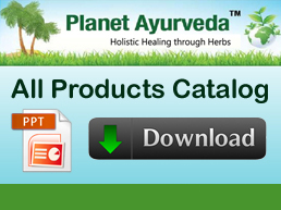 Planet Ayurveda Products Catalog Download